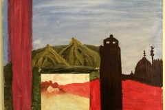 carter-thornton-house-and-tower-acryllic-painting