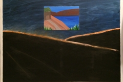 carter-thornton-house-on-the-hill-gouache-painting