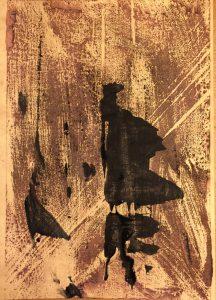 carter thornton tomahawk sneak attack woodblock print